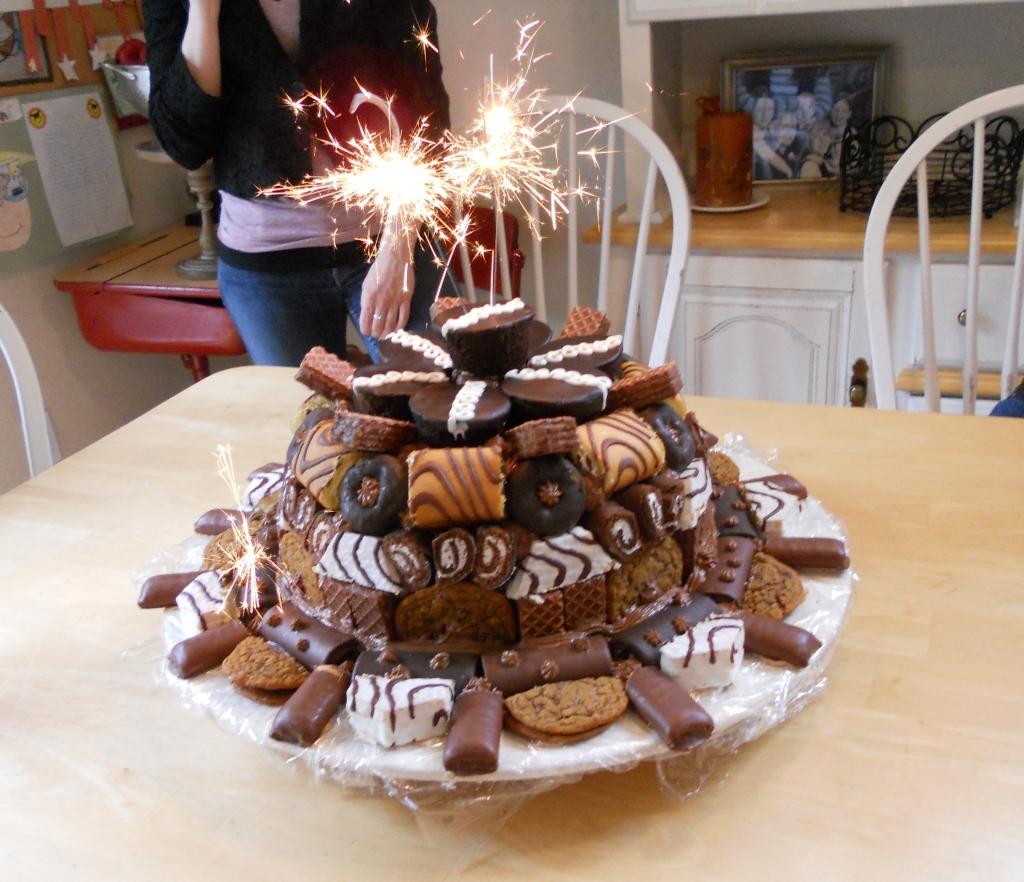 Not-so-Little Debbie Cake